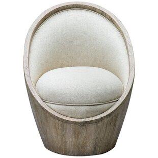 Cash Barrel Chair by Bungalow Rose