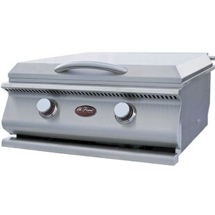 2-Burner Built-In Propane Gas Grill By Cal Flame