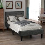 Benehaley Tufted Low Profile Platform Bed by Latitude Run®
