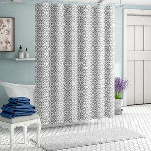 Paul Tiles Single Shower Curtain