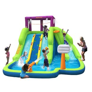 Magic Time Blast Play Center Inflatable Water Slides