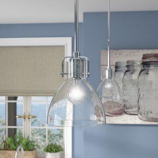 Shellenbarger 1-Light Cone Pendant by Wrought Studio