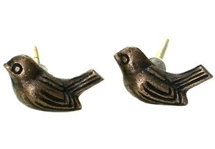 Sparrow Novelty Knob (Set of 2)