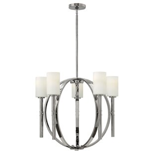 Langley Street Darrell 5-Light Shaded Chandelier