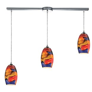 Adalhard 3-Light Cluster Pendant by Bloomsbury Market