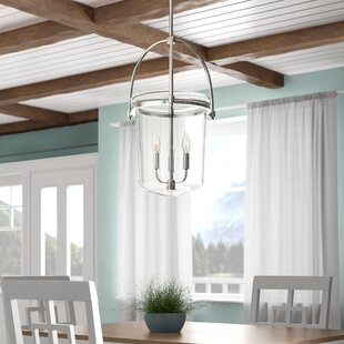 Beachcrest Home Bolton 3-Light Urn Pendant