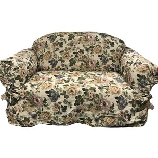 Romance Box Cushion Loveseat Slipcover