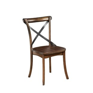 Audwin Convenient Accented Solid Wood Dining Chair (Set of 2)