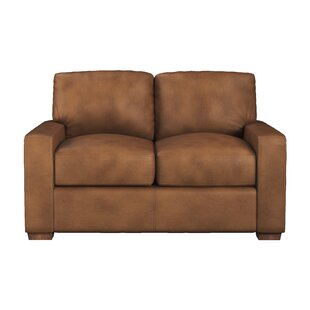 Blanca Leather Loveseat