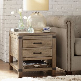 Compare & Buy Emma End Table with Storage By Birch Lane™