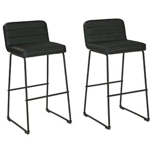 Counter  Bar Stool Set of 2 by Latitude Run