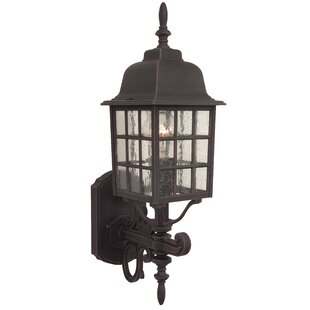Read Reviews Bentonville 1-Light Outdoor Sconce By Alcott Hill