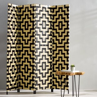 Bungalow Rose 4 Panel Room Divider