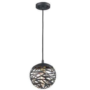 Wrought Studio Safira 1-Light Globe Pendant
