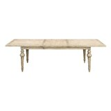 Clintwood Extendable Solid Wood Dining Table by Three Posts™