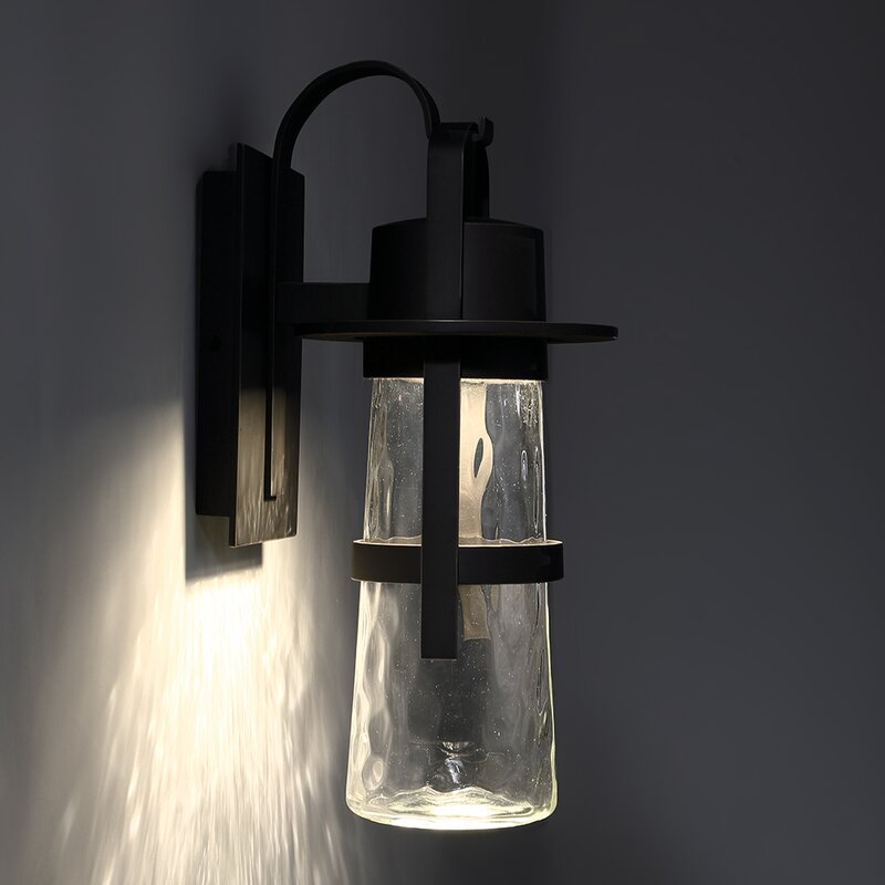 Balthus LED Outdoor Wall Lantern & Reviews | AllModern