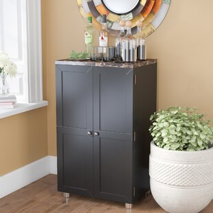 Oldsmar Bar Cabinet with Wine Storage