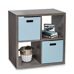 Premium Cube Bookcase by Honey Can Do Today Sale Only