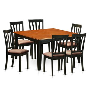 Wooden Importers Parfait 7 Piece Extendable Dining Set