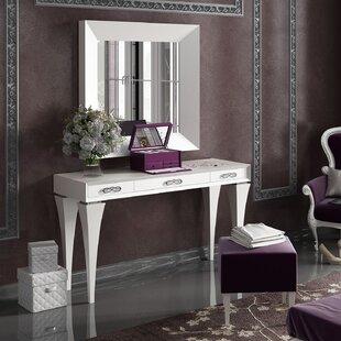 Glam Bedroom & Makeup Vanities You\'ll Love | Wayfair