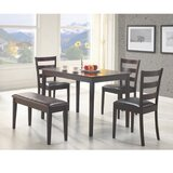 Harting 5 Piece Dining Set by Red Barrel Studio®