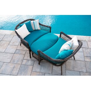 Hafsa 3 Piece Conversation Set with Cushions by Bungalow Rose