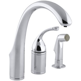 Kohler Forté 3-Hole Remote Valve Kitchen Sink Faucet with 9