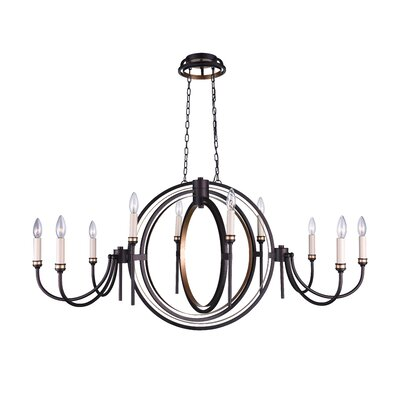 10-Light Chandelier CWILighting