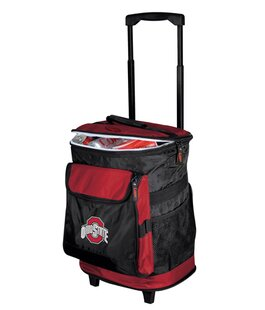 24 Can Collegiate Rolling Cooler - Ohio State