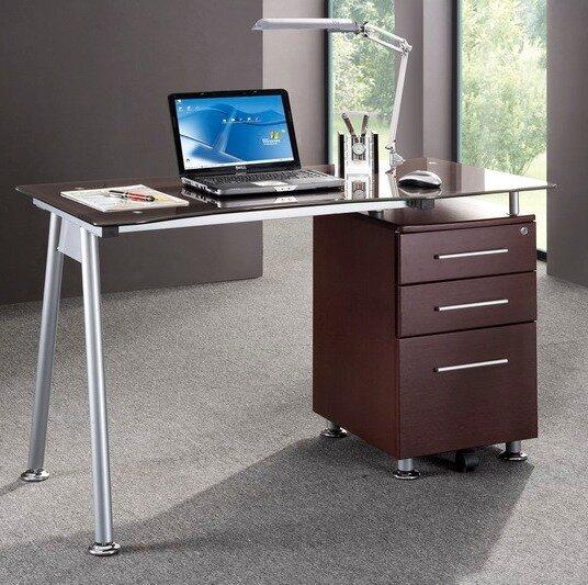 Brayden Studio Sherrill Writing Desk & Reviews   Wayfair