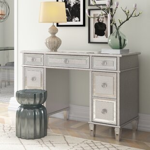 Dressing Table With Mirror By Willa Arlo Interiors