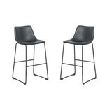 North Widcombe 29 Bar Stool (Set of 2) by 17 Stories