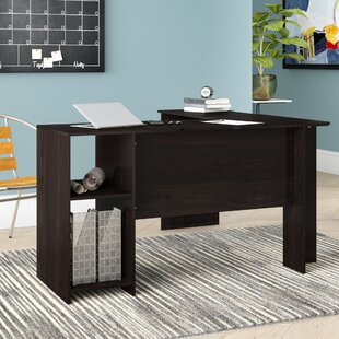 Compare & Buy Eakins L-Shaped Corner Desk with Bookshelves By Ebern Designs