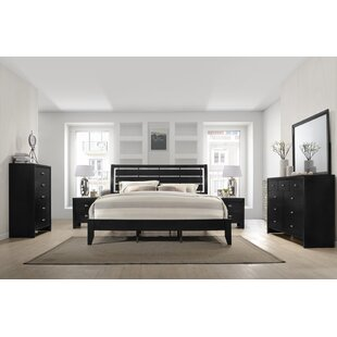 Willenhall Platform 6 Piece Bedroom Set by Ebern Designs