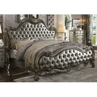 Doline Upholstered Panel Bed