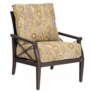 Andover Stationary Patio Chair with Cushions