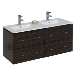 Read Reviews Modern 46 Double Vanity Base Only ByAmerican Imaginations