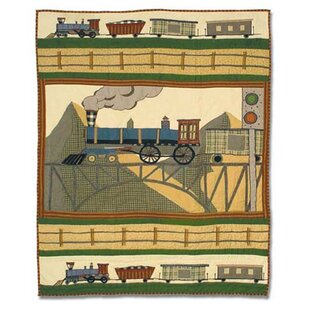 Train Crib Quilt ByPatch Magic