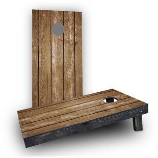 Custom Cornhole Boards Blank Wood Slat Cornhole Boards (Set of 2)