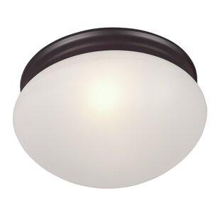 Ebern Designs Brenden 2-Light Flush Mount