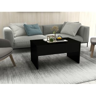 Jacques Smart Lift Top Coffee Table with Tray Top