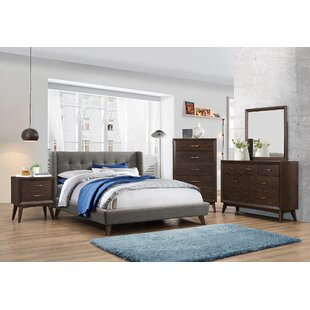 Gillies Upholstered Panel Bed