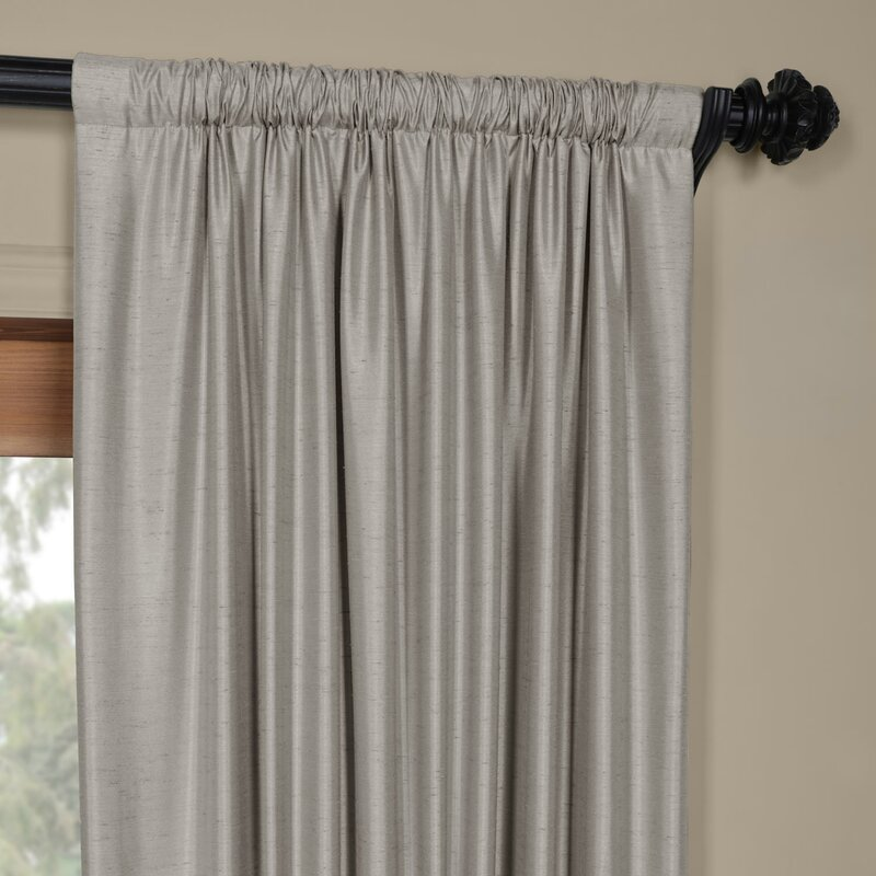 taupe quatrefoil curtains curtain modern cream and grey in colors a panels exhalecurtainsblackout silk available design panel chocolate exhale