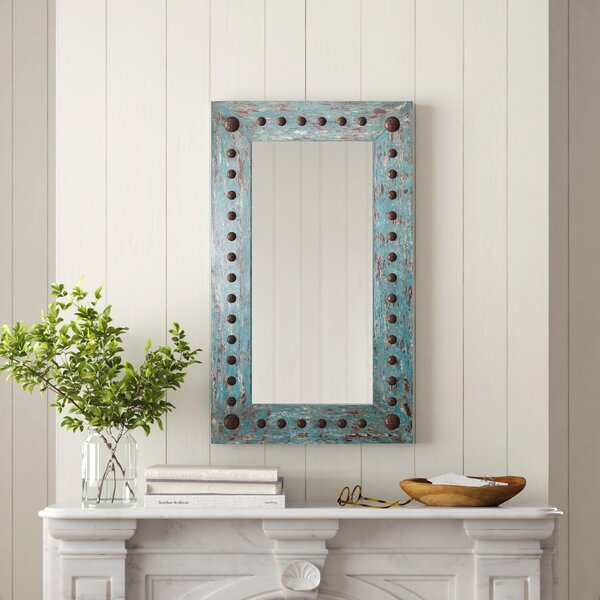 Nailhead Trim Mirror Wayfair