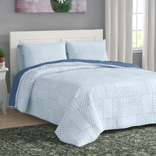 Mcauley 3 Piece Reversible Quilt Set