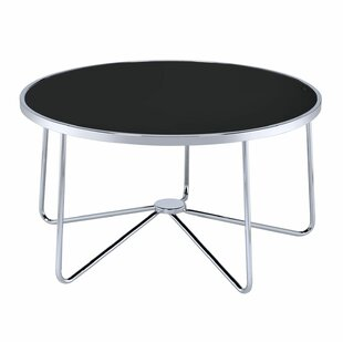 Talamantez Contemporary Round Living Room Coffee Table by Orren Ellis Great price