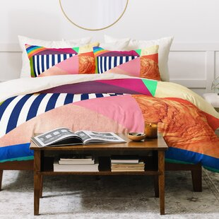 East Urban Home Bianca Duvet Set
