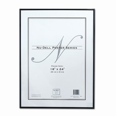 Nu-Dell Metal Poster Frame, Plastic Face & Reviews | Wayfair
