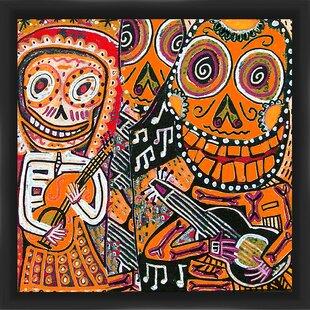 Day of the Dead IV Framed Graphic Art  sc 1 st  Wayfair & PTM Images Day of the Dead V Framed Graphic Art | Wayfair