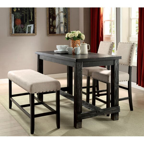 Wonderful Three Posts Ahner Counter Height Pub Table U0026 Reviews | Wayfair
